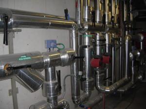 impianto industriale di raffrescamento